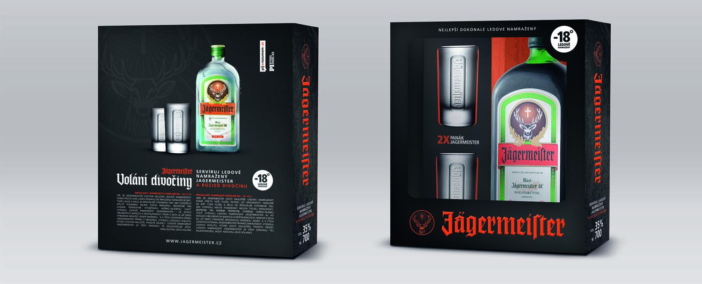 Dárková krabička Jägermeister