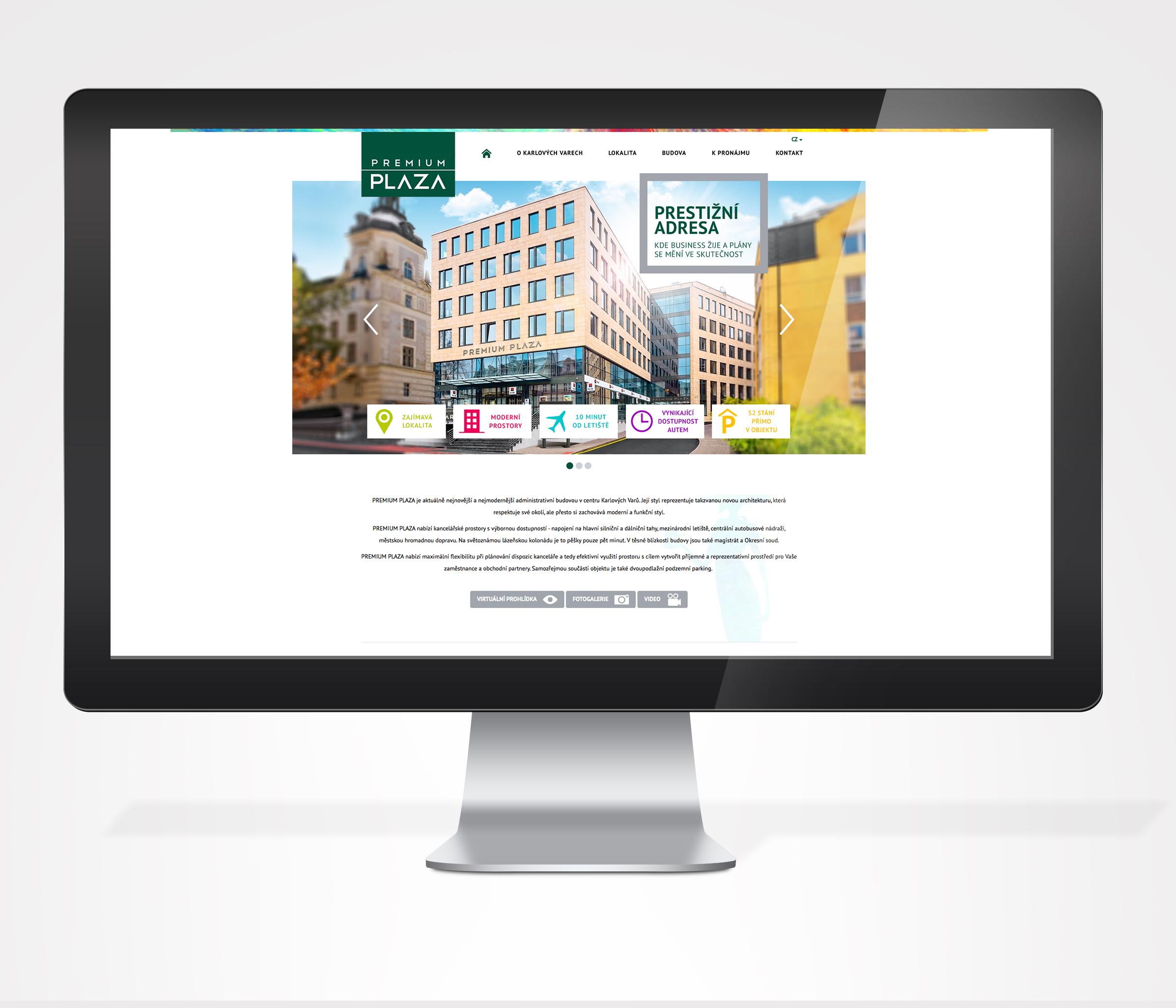 Webdesign Premium Plaza