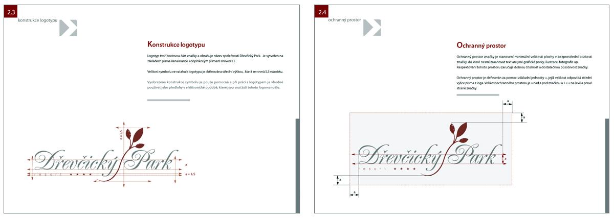 Po výběru schválení loga jsme vytvořili logo manuál definující konstrukci loga, použitá písma, barvy, povolené a zakázané podoby a užití, atd.