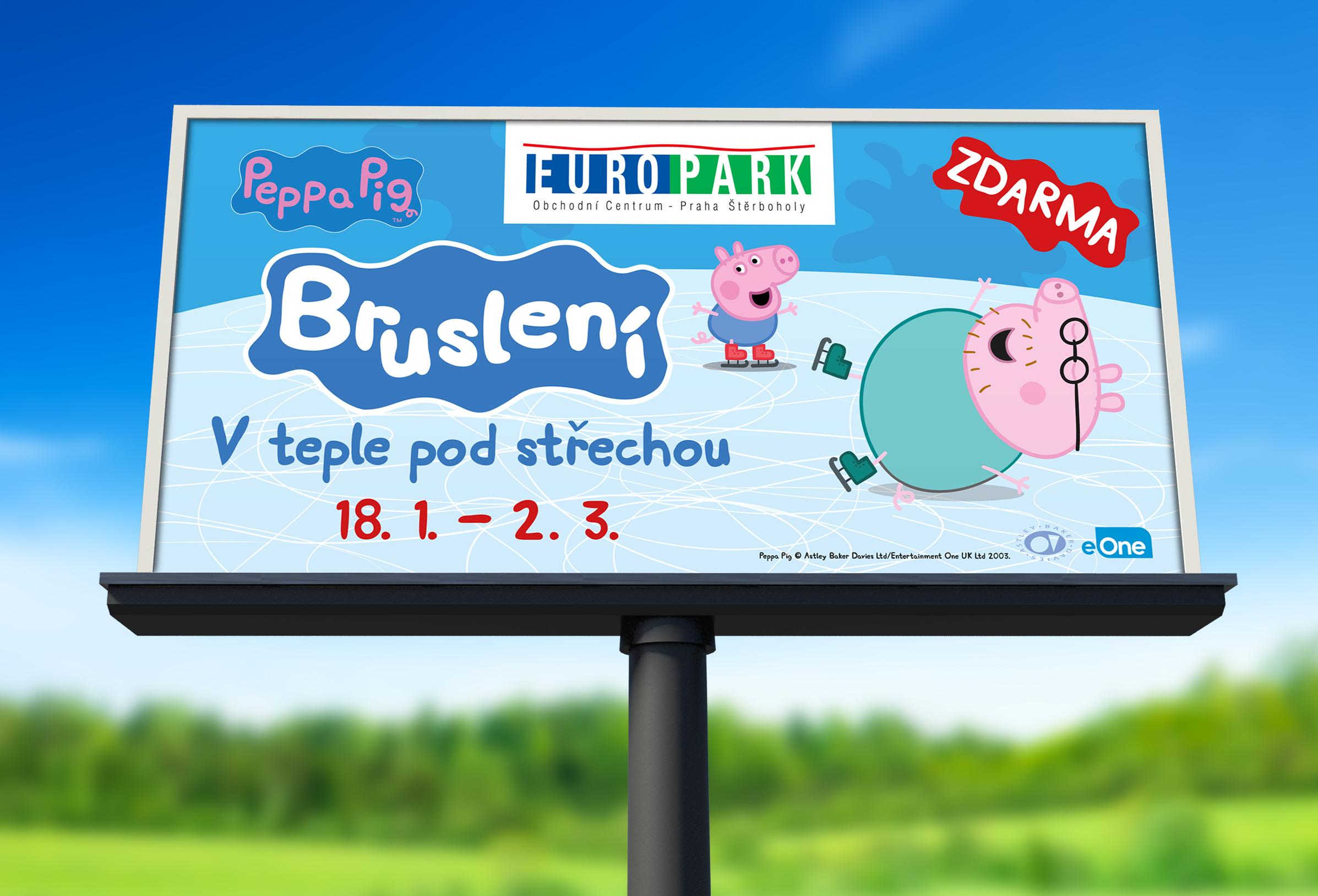 Outdoor kampaně Europark